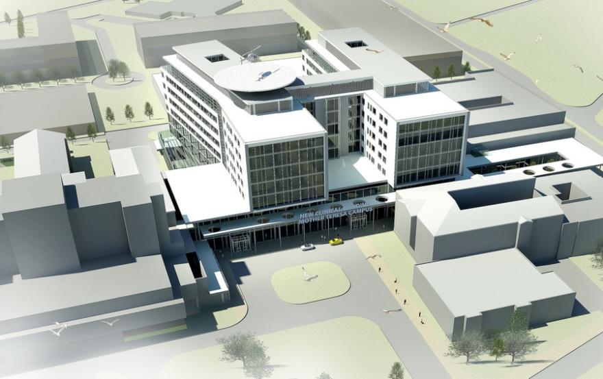 Постапката за изградба на нов Клинички во Скопје денес само што започна