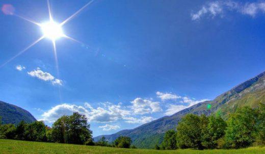 Денес очекувајте сончев ден со максимум 36 степени!