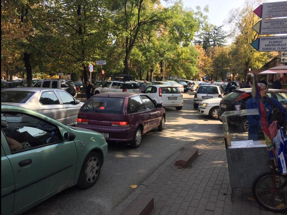 Укинат е бесплатниот паркинг за пациентите на дијализа