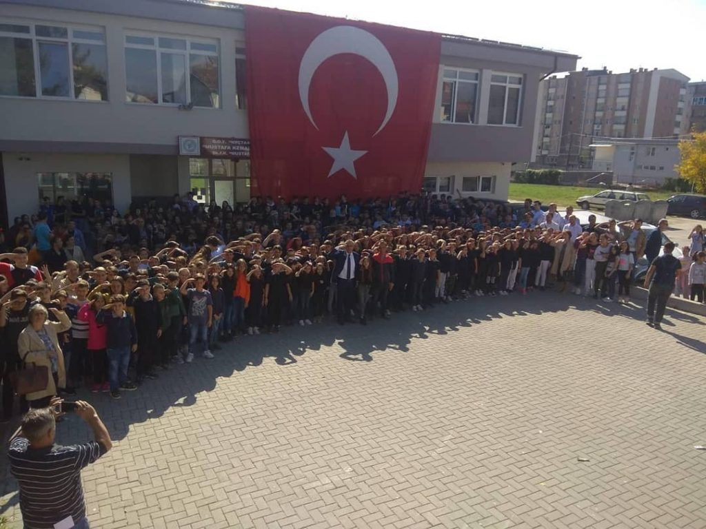Инспекциски надзор во училиштето во Гостивар каде учениците ја поздравија воената операција во Сирија