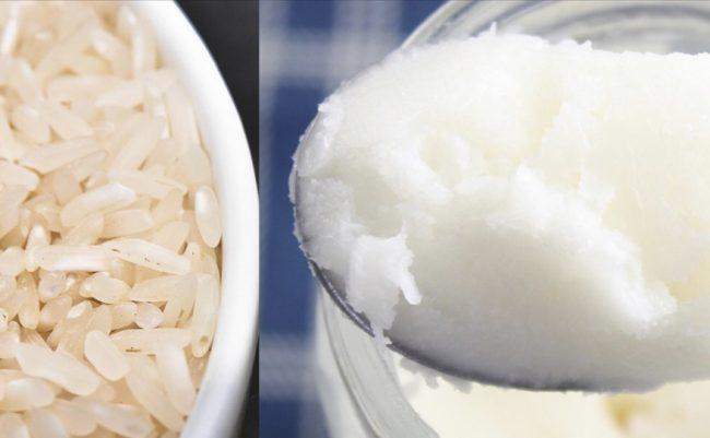 Брзо слабеење со ладен ориз и кокосово масло