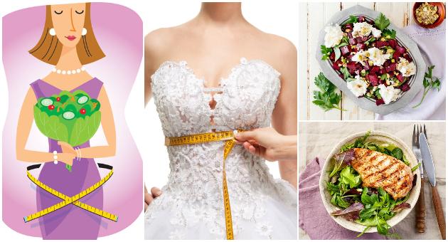 Диета за невести – 6-дневно мени со кое ќе бидете во форма до свадба