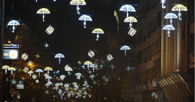 Општините за новогодишното украсување потрошиле 675.000 евра