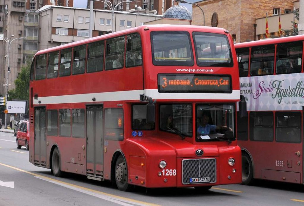 Утрово јавниот превоз беше бесплатен, но попладнево не важи. Власта ги запре мерките за загадување