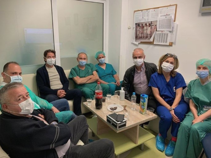 Успешна првата трансплантација на срце во земјава