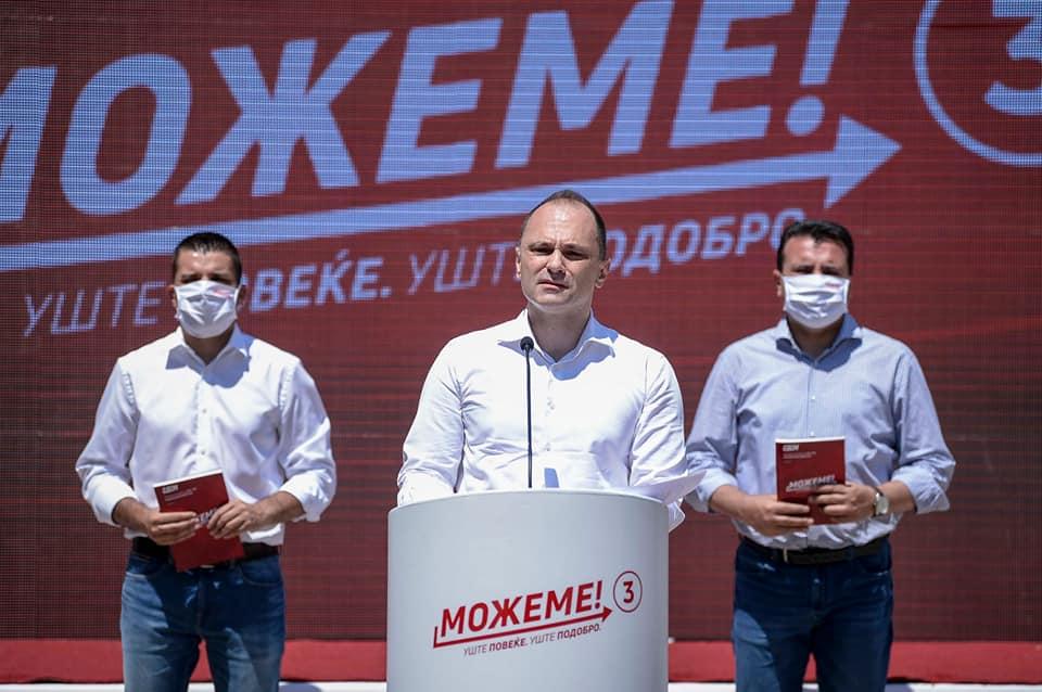 Додека Филипче снима спотови за кампања, Македонија руши рекорди по бројот на заразени и починати