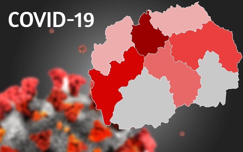 11 399 лица во Македонија се заразија од Ковид-19, а 3402 се активни случаи