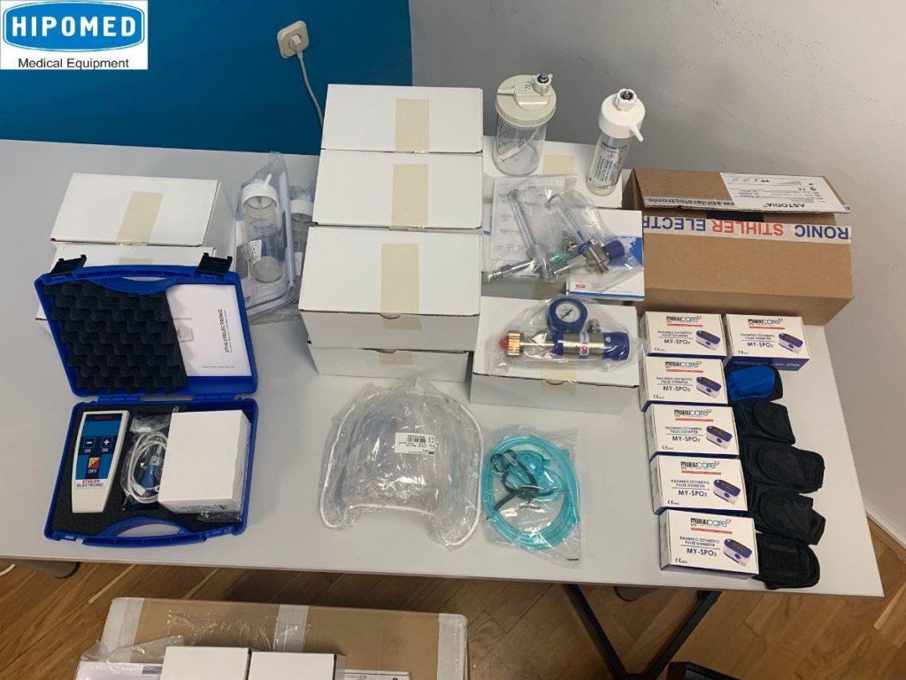 Хипомед донираше апарати и опрема во болници низ Македонија